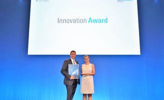 Innovation Award für WashTec.