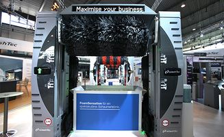 Maximise your business: WashTec auf der UNITI expo 2016